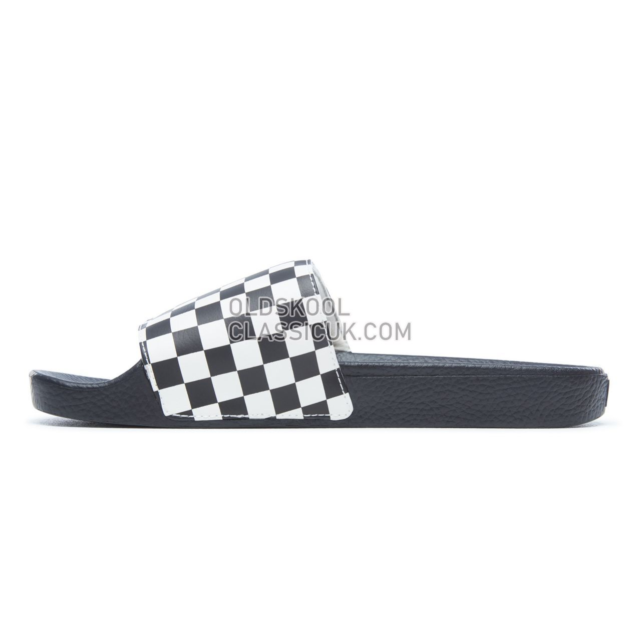 a9c67c044a03 ... Vans Checkerboard Slide-On Sandals Mens White V4KIIP9 Shoes ...