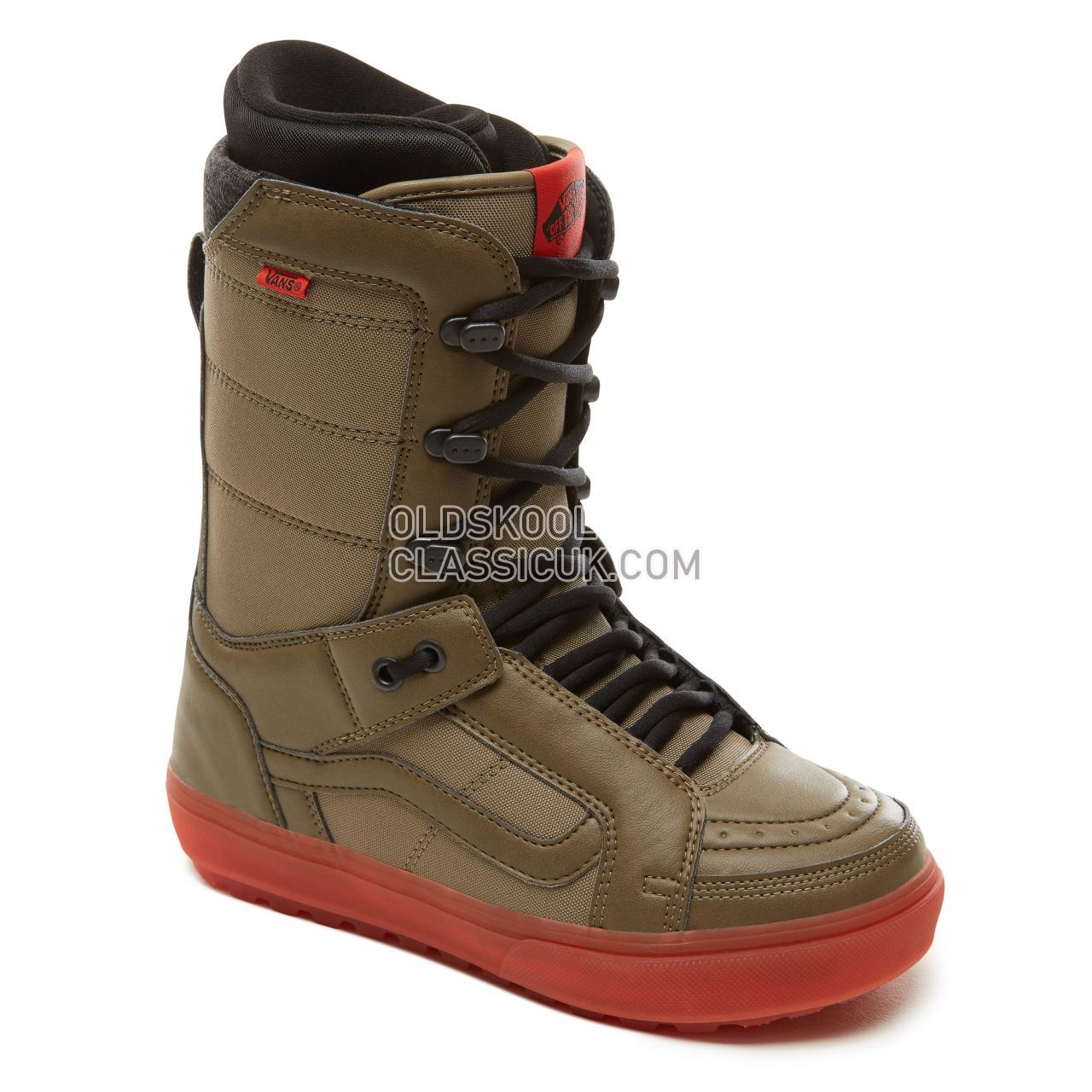 Vans Hi-Standard OG Snowboots Mens Green/Orange VA3TFJGOG Shoes