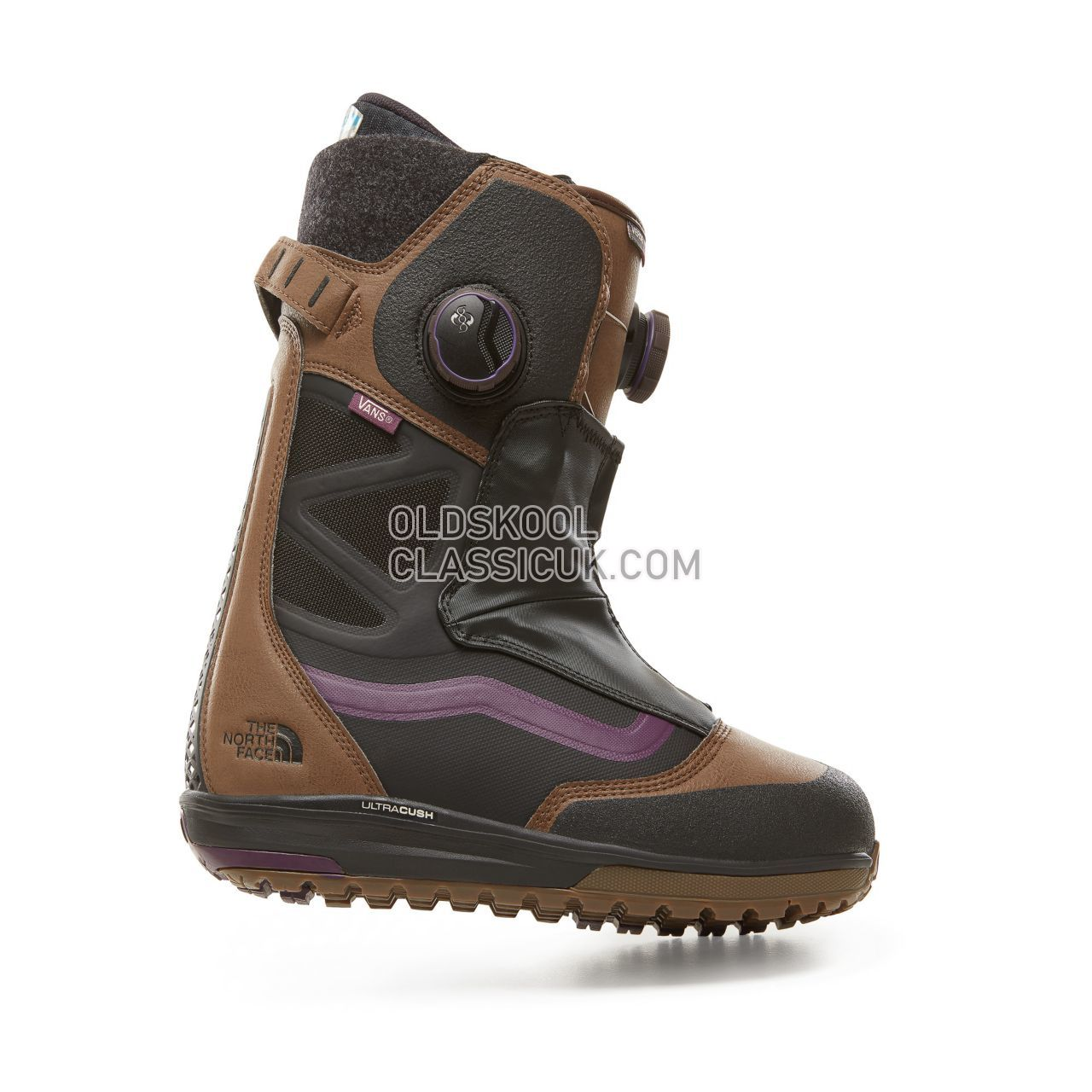 Vans x The North Face Blake Paul Verse Snowboots Mens Brown/Purple (Tnf / Blake Paul) VA3DIQREM Shoes