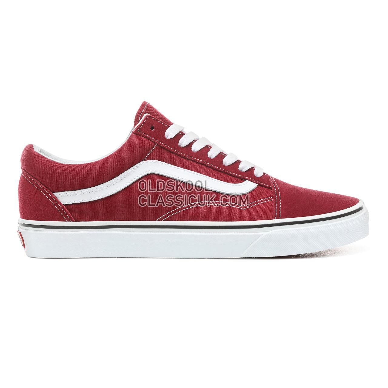 Vans Old Skool Sneakers Mens Womens Unisex Rumba Red/True White VN0A38G1VG4 Shoes