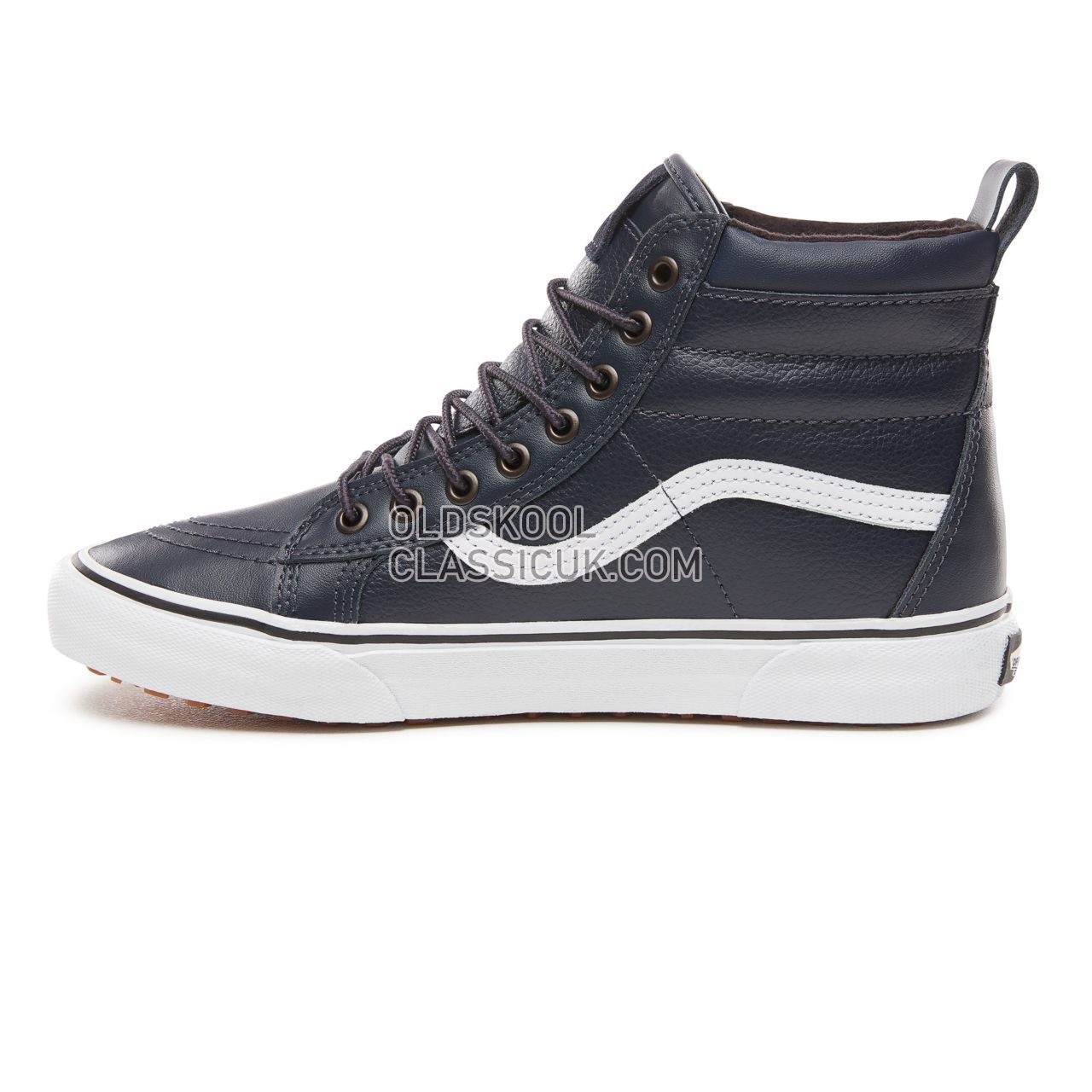 649e2fcc54 ... Vans Sk8-Hi Mte Sneakers Mens (Mte) Sky Captain Leather VN0A33TXUQD  Shoes ...