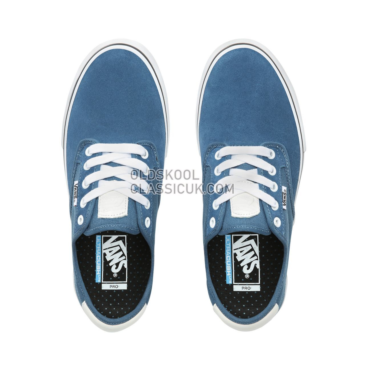 Vans Chima Ferguson Pro Sneakers Mens Blues Ashes/White VN0A38CFVEY Shoes