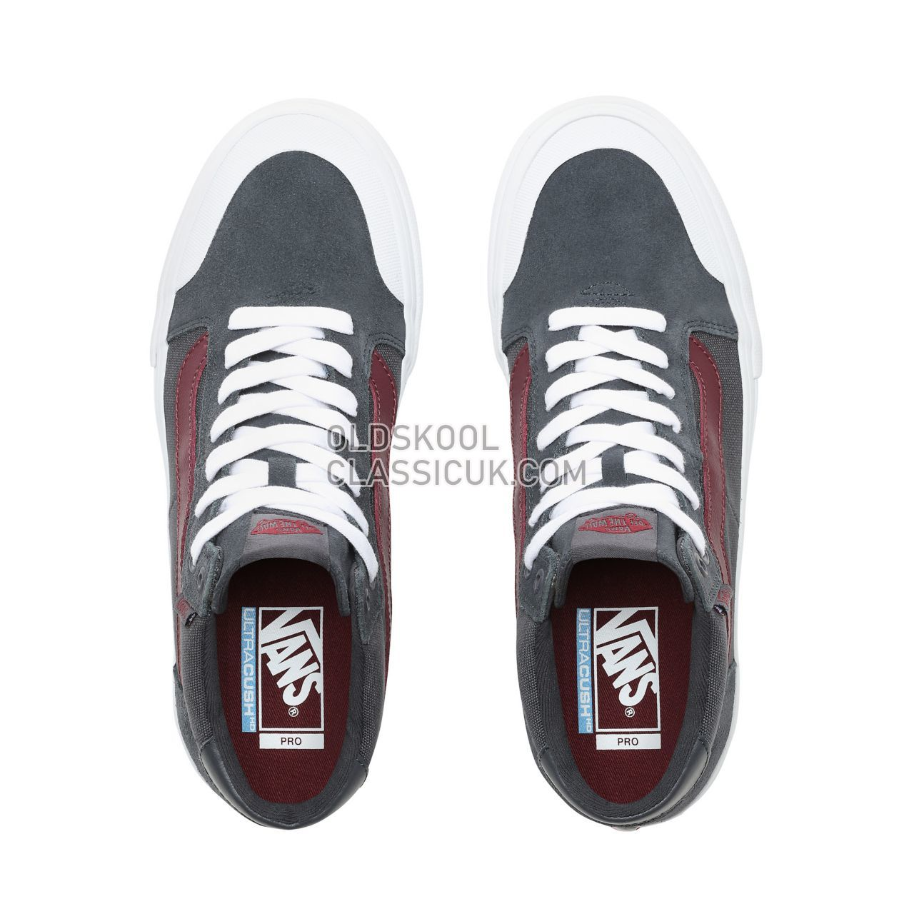 Vans Style 112 Mid Pro Sneakers Mens Ebony/Port Royale VN0A3DOVVGM Shoes