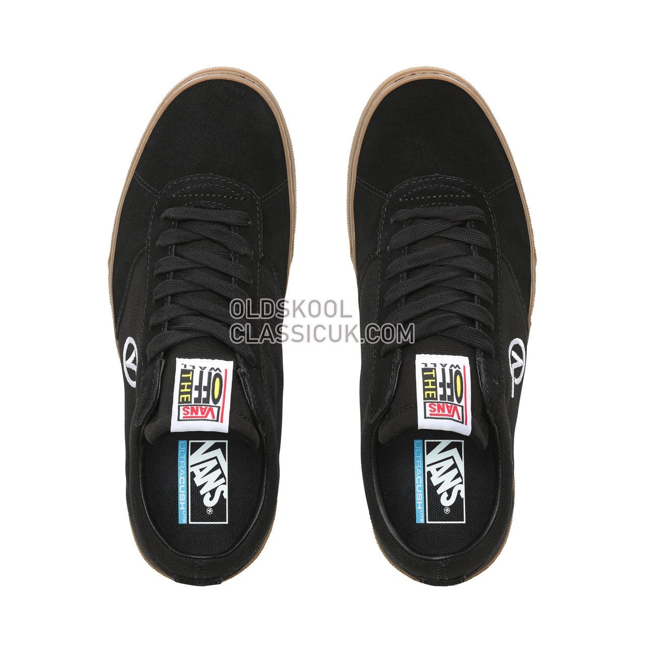Vans Paradoxxx Sneakers Mens Black/Gum VN0A3TKKB9M Shoes