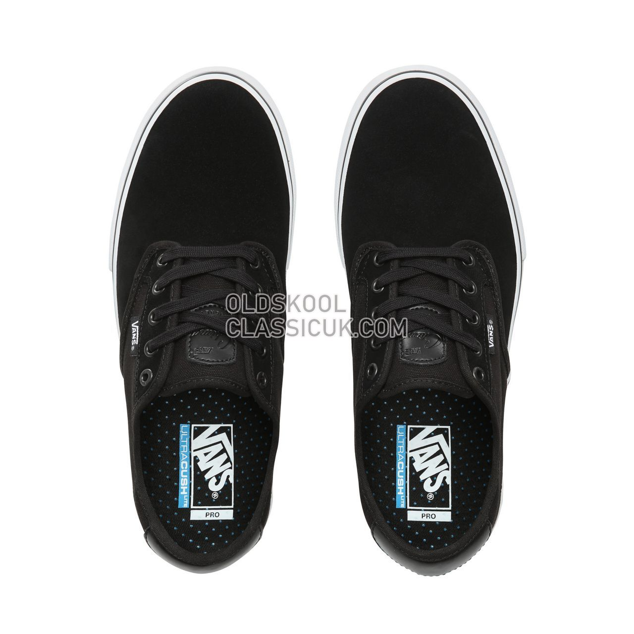 Vans Chima Ferguson Pro Sneakers Mens Black/True White VN0A38CF6BT Shoes