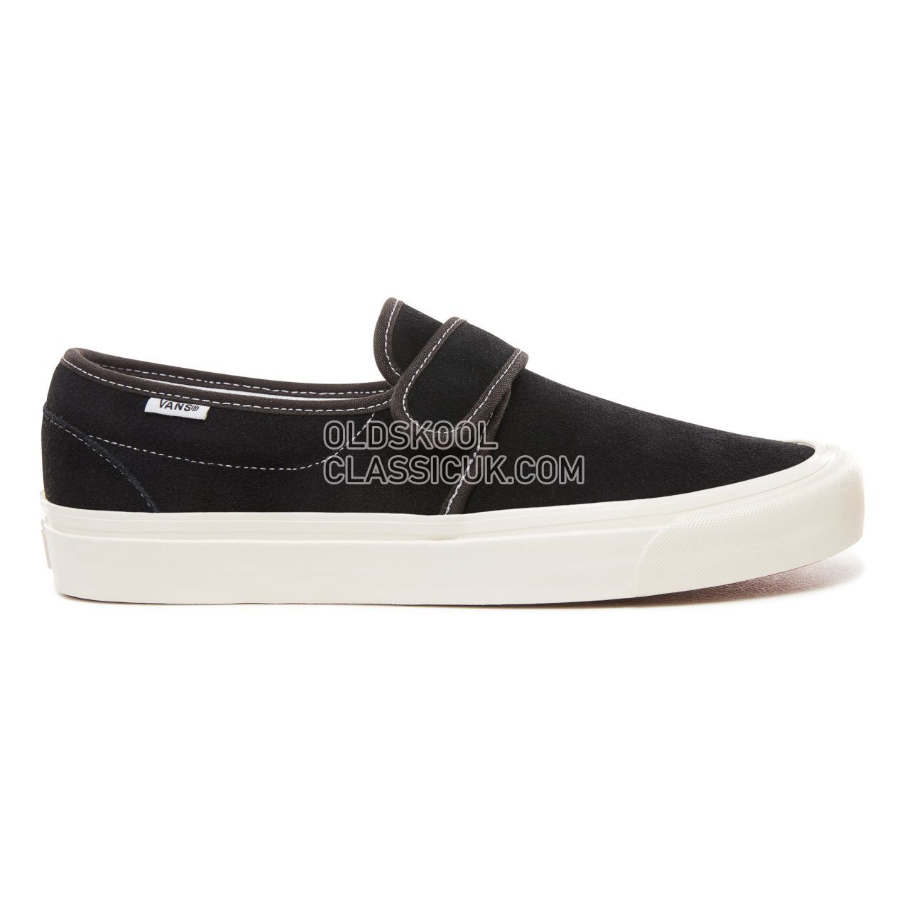 Vans Anaheim Factory Slip-On 47 V Dx Sneakers Mens (Anaheim Factory) Og Black/Suede VN0A3MVAUL1 Shoes