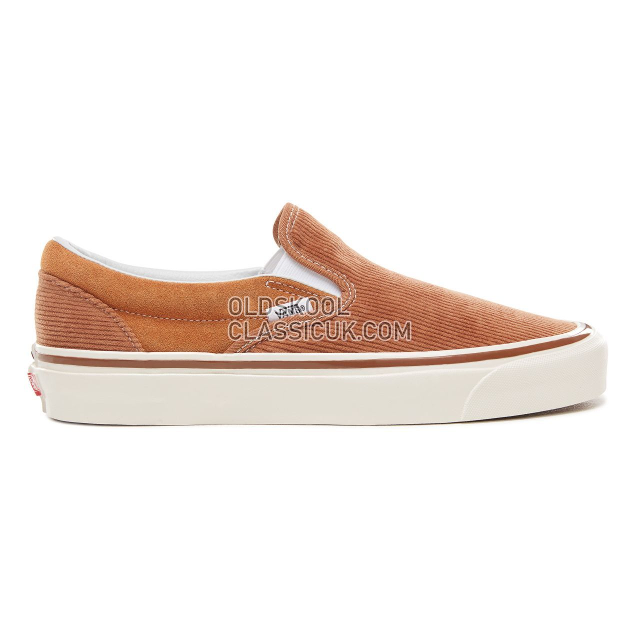 Vans Anaheim Factory Classic 98 Dx Sneakers Mens (Anaheim Factory) Og Hart Brown/Corduroy VN0A3JEXUM4 Shoes