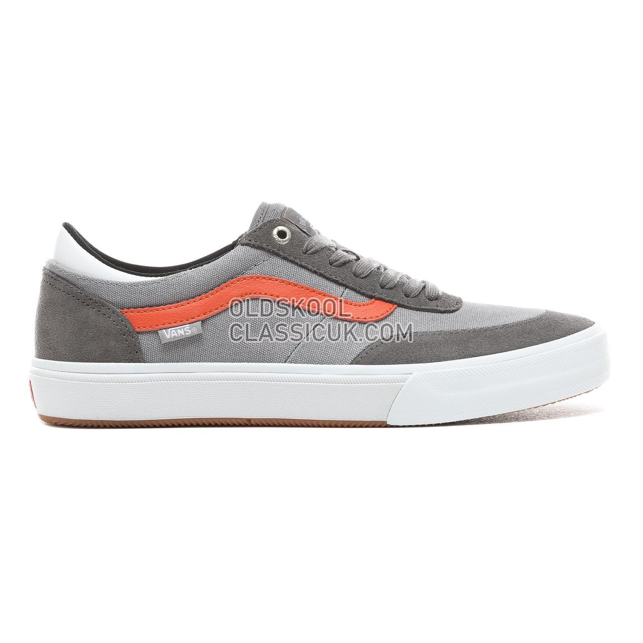 Vans Glibert Crockett 2 Pro Sneakers Mens Pewter/Frost Gray VN0A38COVFJ Shoes
