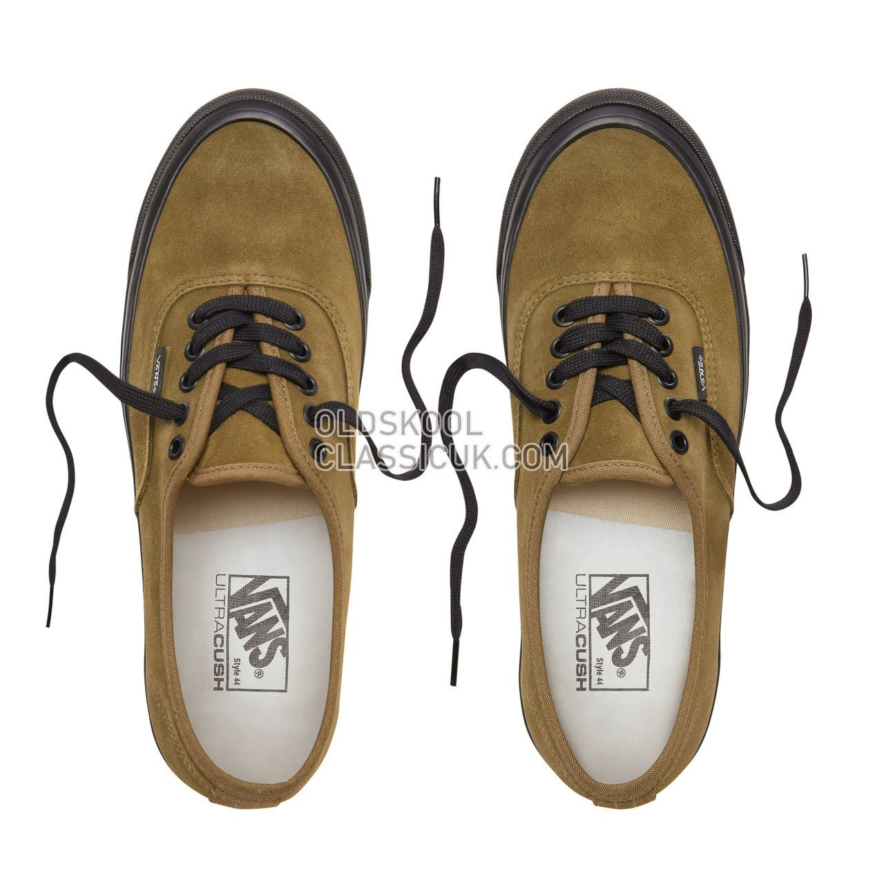 Vans Anaheim Factory Authentic 44 Dx Sneakers Mens (Anaheim Factory) Og Olive/Suede VN0A38ENUL3 Shoes