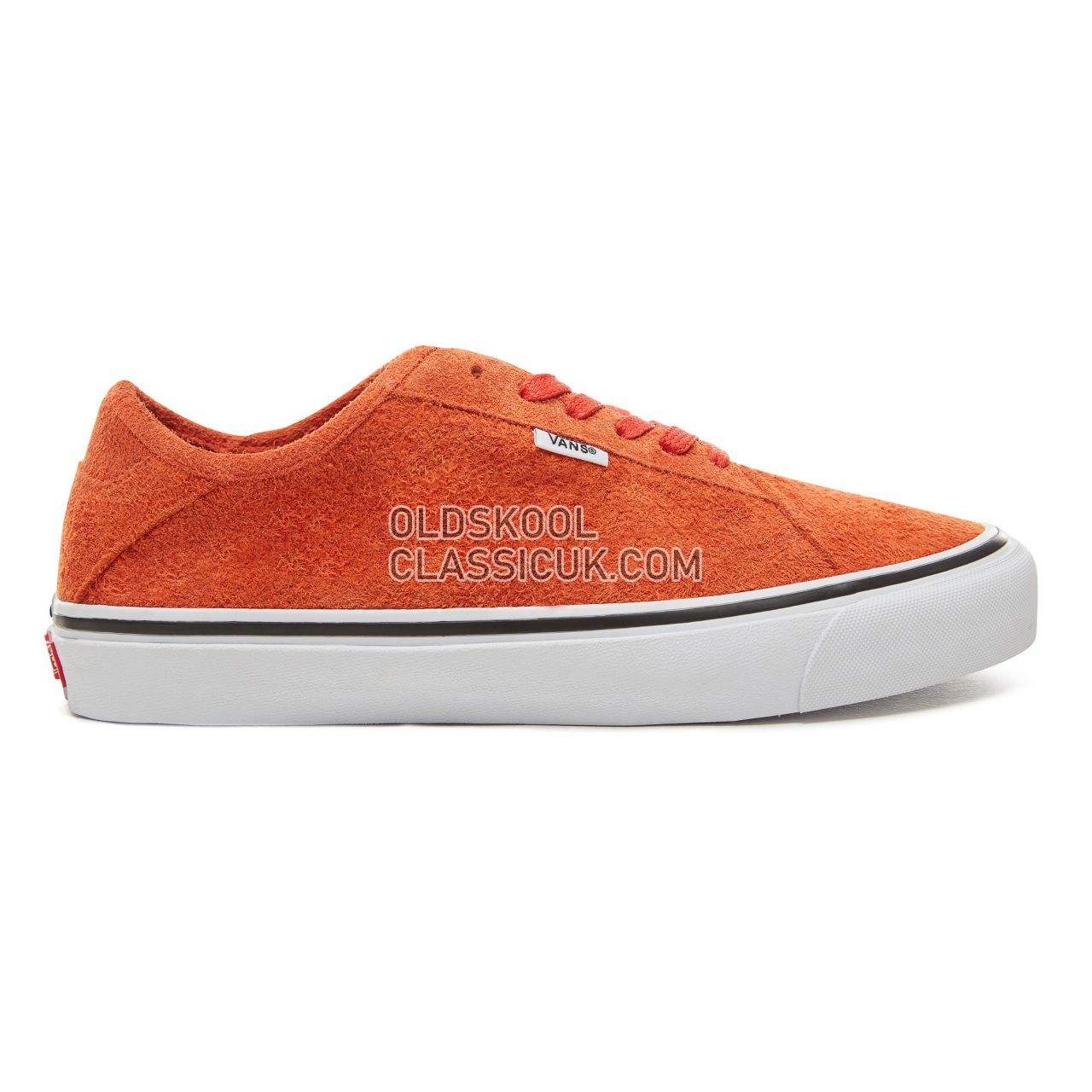 Vans Hairy Suede Diamo Ni Sneakers Mens (Hairy Suede) Pureed Pumpkin/True White VA3TKDU8B Shoes