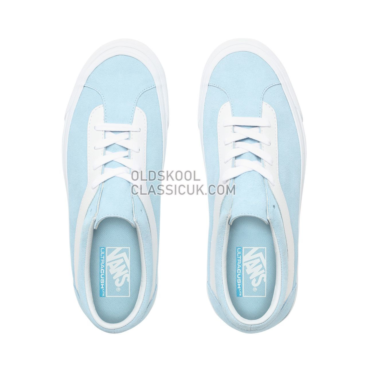 Vans Suede Bold NI Sneakers Mens (Suede) Cool Blue/True White VN0A3WLPVLJ Shoes