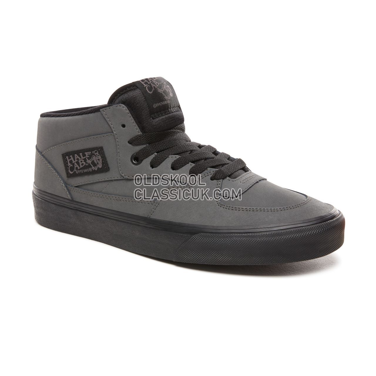 Vans Vansbuck Half Cab Sneakers Mens (Vansbuck) Pewter/Black VN0A348EUMJ Shoes