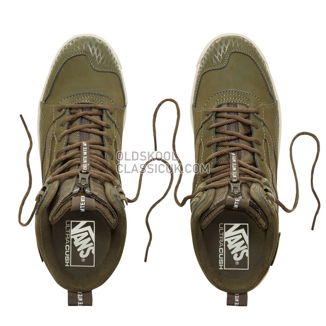 Vans Suede MTE UltraRange Hi Sneakers Mens (Mte) Grape Leaf/Marshmallow VA3TKYUDM Shoes