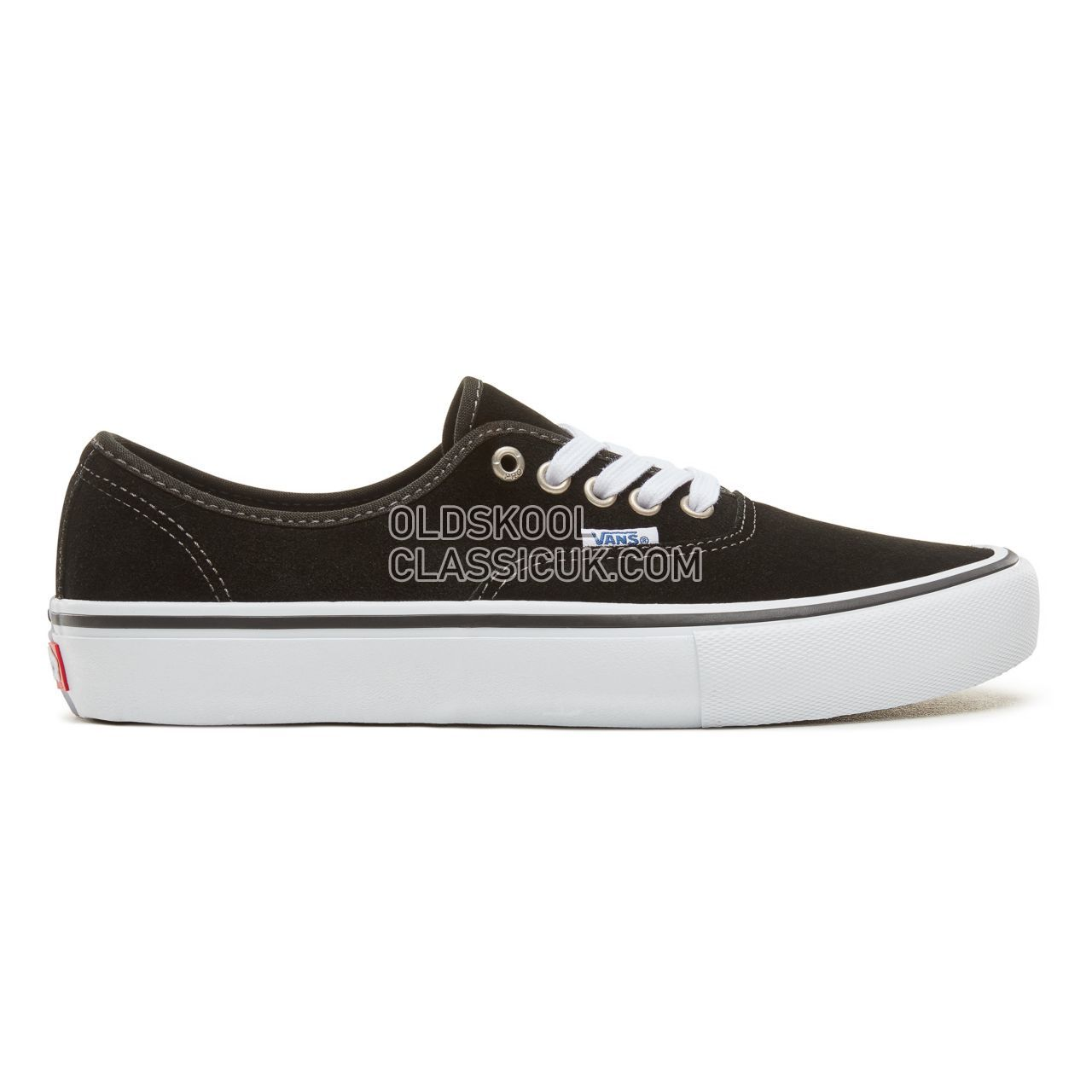 Vans Authentic Pro Sneakers Mens (Suede) Black VN0A3479A6O Shoes