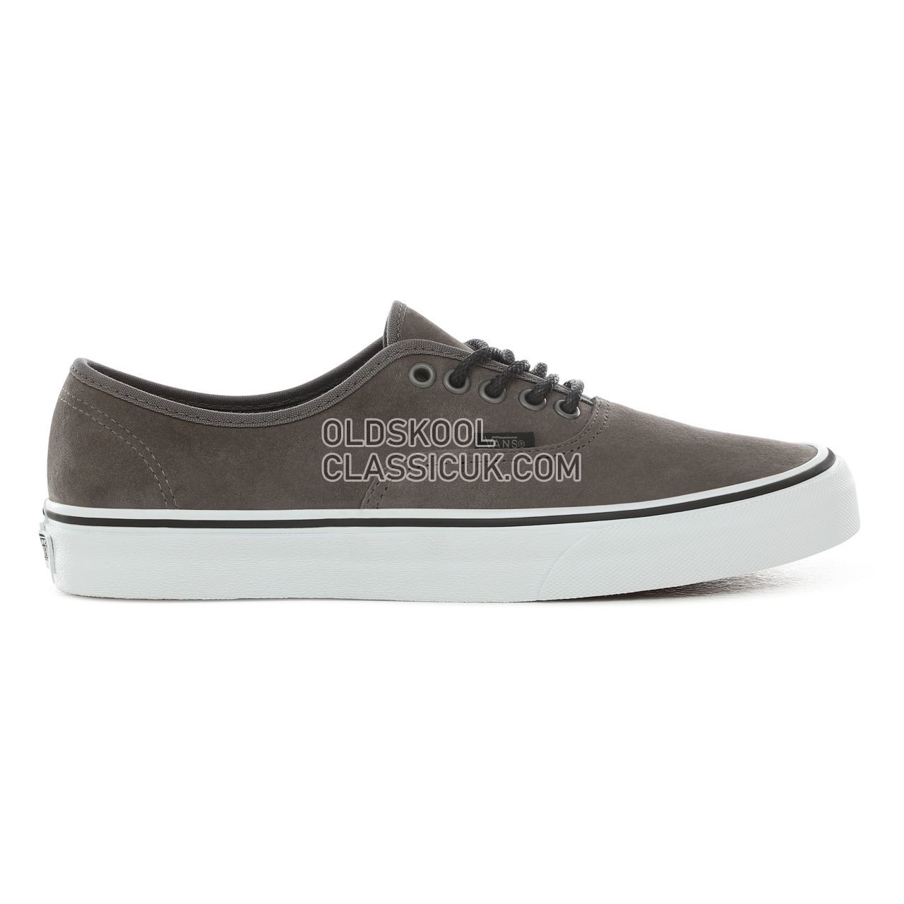 Vans Texture Suede Authentic Sneakers Mens Pewter VN0004MLJPL Shoes