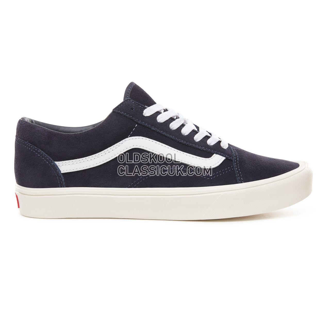 Vans Suede Old Skool Lite Sneakers Mens Womens Unisex (Suede) Sky Captain/Marshmallow VN0A2Z5WULG Shoes
