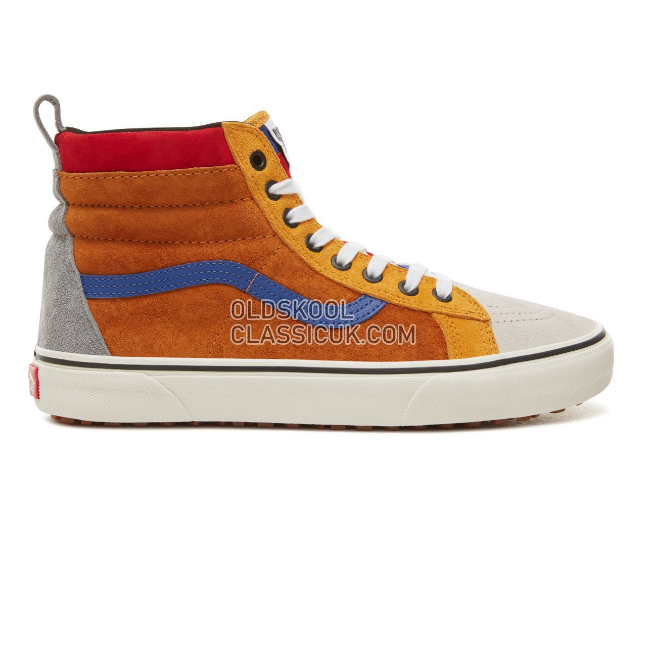 Vans Sk8-Hi MTE Sneakers Mens (Mte) Sudan Brown/Mazarine Blue VA33TXUC9  Shoes - £58