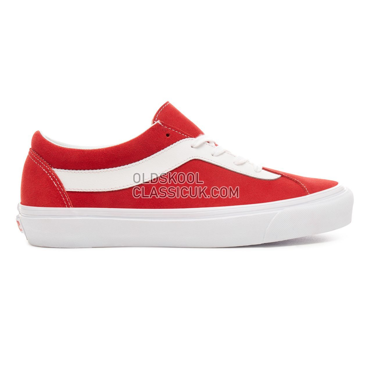 Vans Staple Bold Ni Sneakers Mens (Staple) Racing Red/True White VN0A3WLPULC Shoes