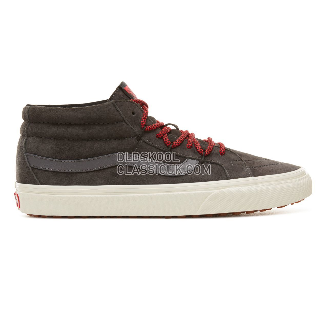 Vans Sk8-Mid Reissue Ghillie MTE Sneakers Mens (Mte) Forged Iron/Marshmallow VA3TKQUCR Shoes