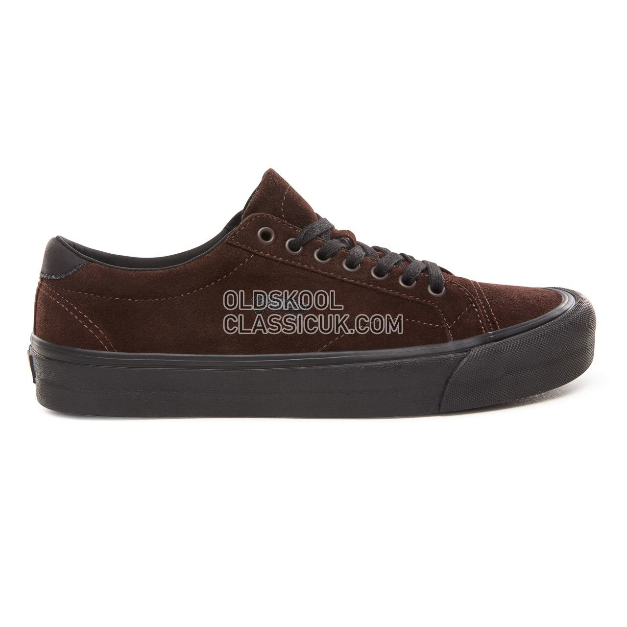 Vans Suede Court Icon Sneakers Mens (Suede) Demitasse/Black VN0A3JF2UM8 Shoes