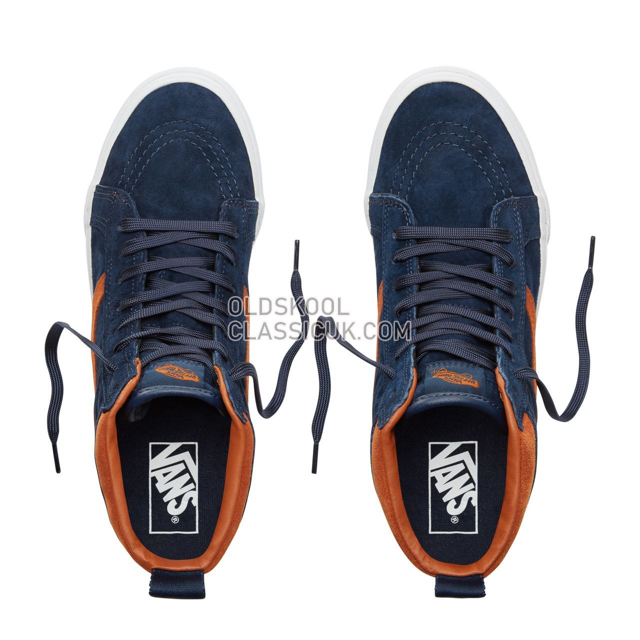 Vans Suede Sk8-Hi MTE Sneakers Mens (Mte) Suede/Dress Blues VA33TXUCB Shoes
