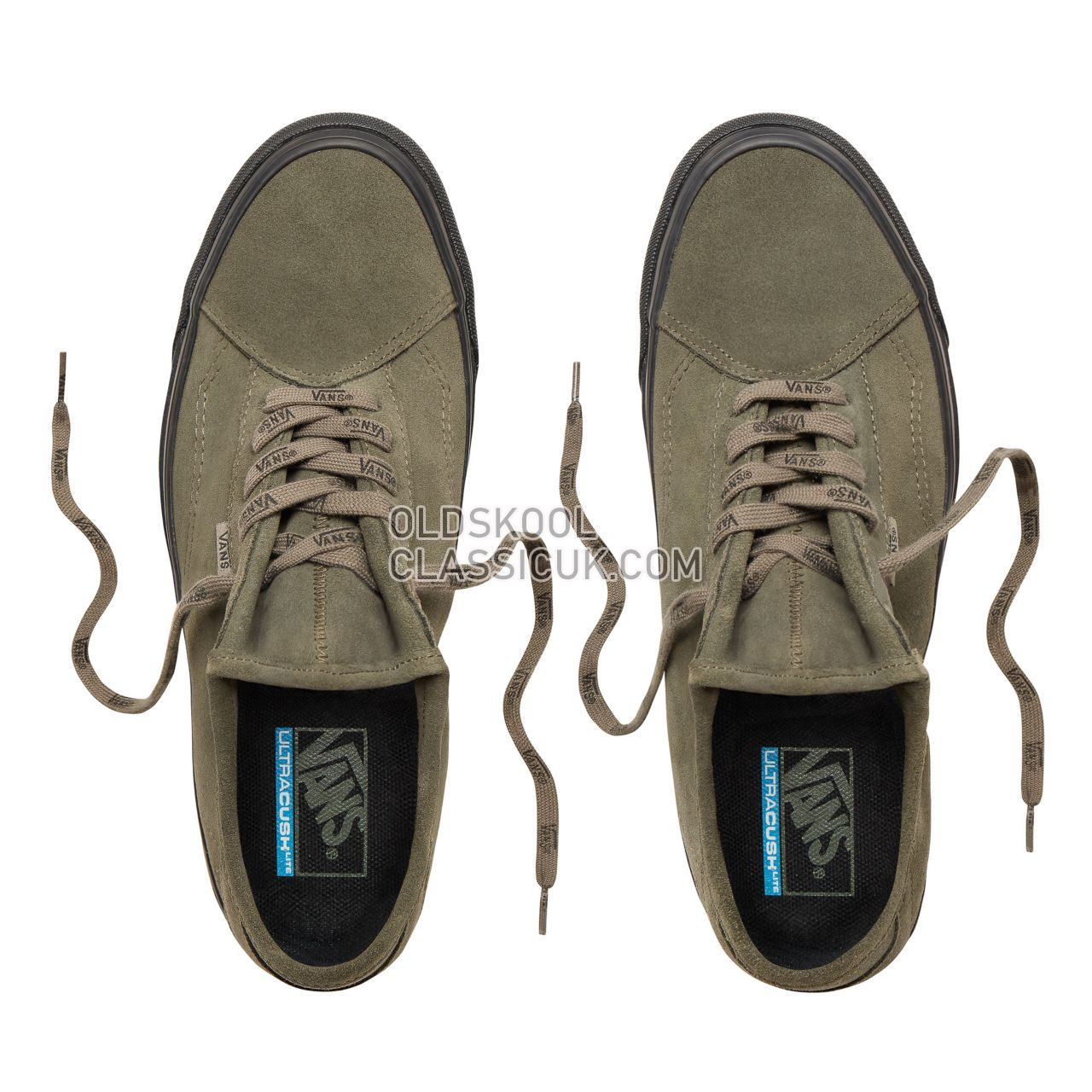 Vans Call Out Diamo Ni Sneakers Mens (Call Out) Dusty Olive/Black VN0A3TKDUMB Shoes