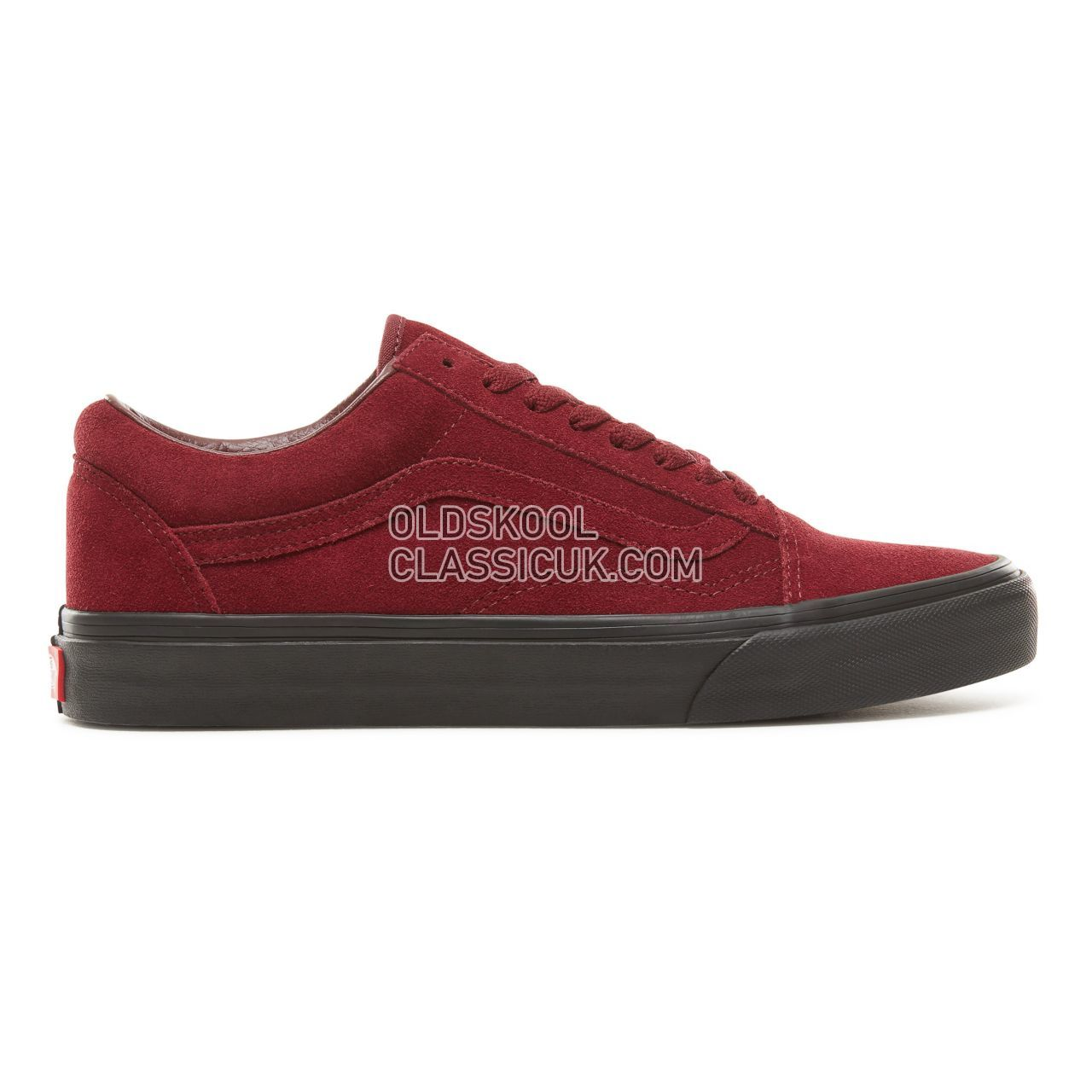 Vans Suede Black Outsole Old Skool Sneakers Mens Womens Unisex (Black Outsole) Port Royale/Black VA38G1UA4 Shoes