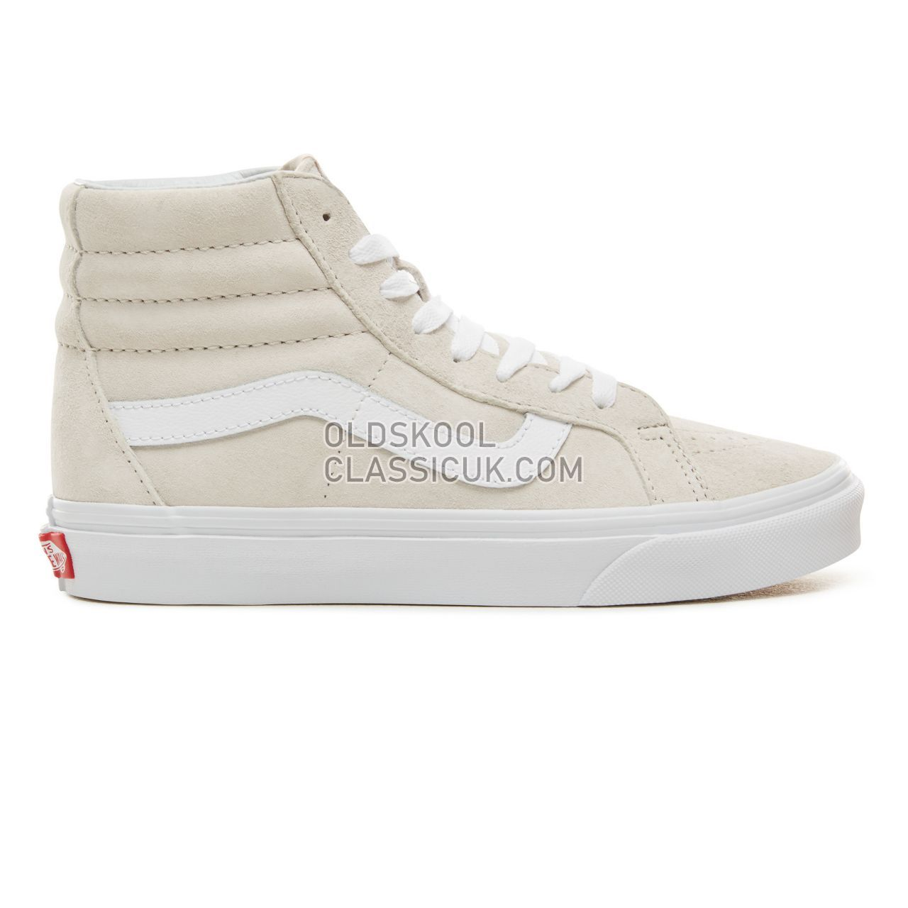 Vans Suede Sk8-Hi Reissue Sneakers Mens (Pig Suede) Moonbeam/True White VA2XSBU5L Shoes