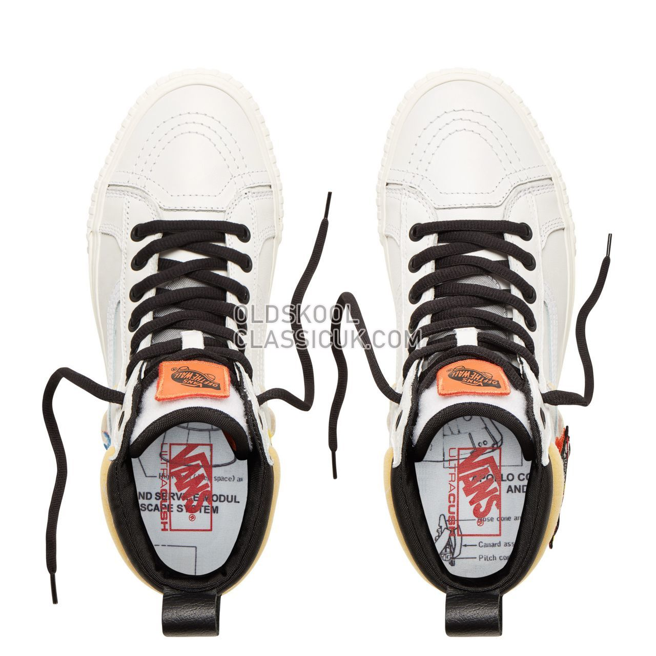 Vans x Space Voyager Sk8-Hi 46 Mte Dx Sneakers Mens (Mte) Space Voyager/True White/Marshmallow VN0A3DQ5UQ4 Shoes