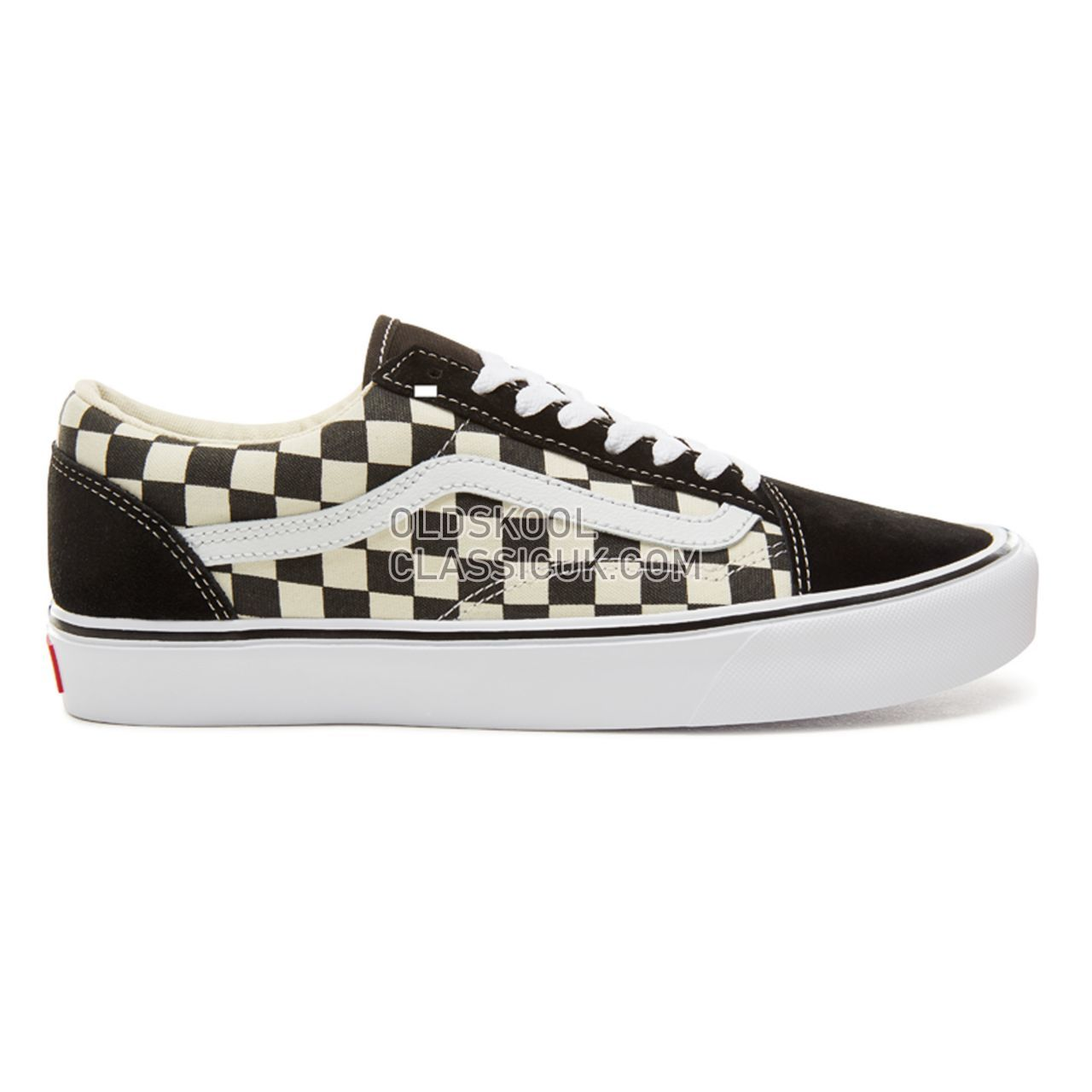 Vans Checkerboard Old Skool Lite Sneakers Mens Womens Unisex Black-White VA2Z5W5GX Shoes