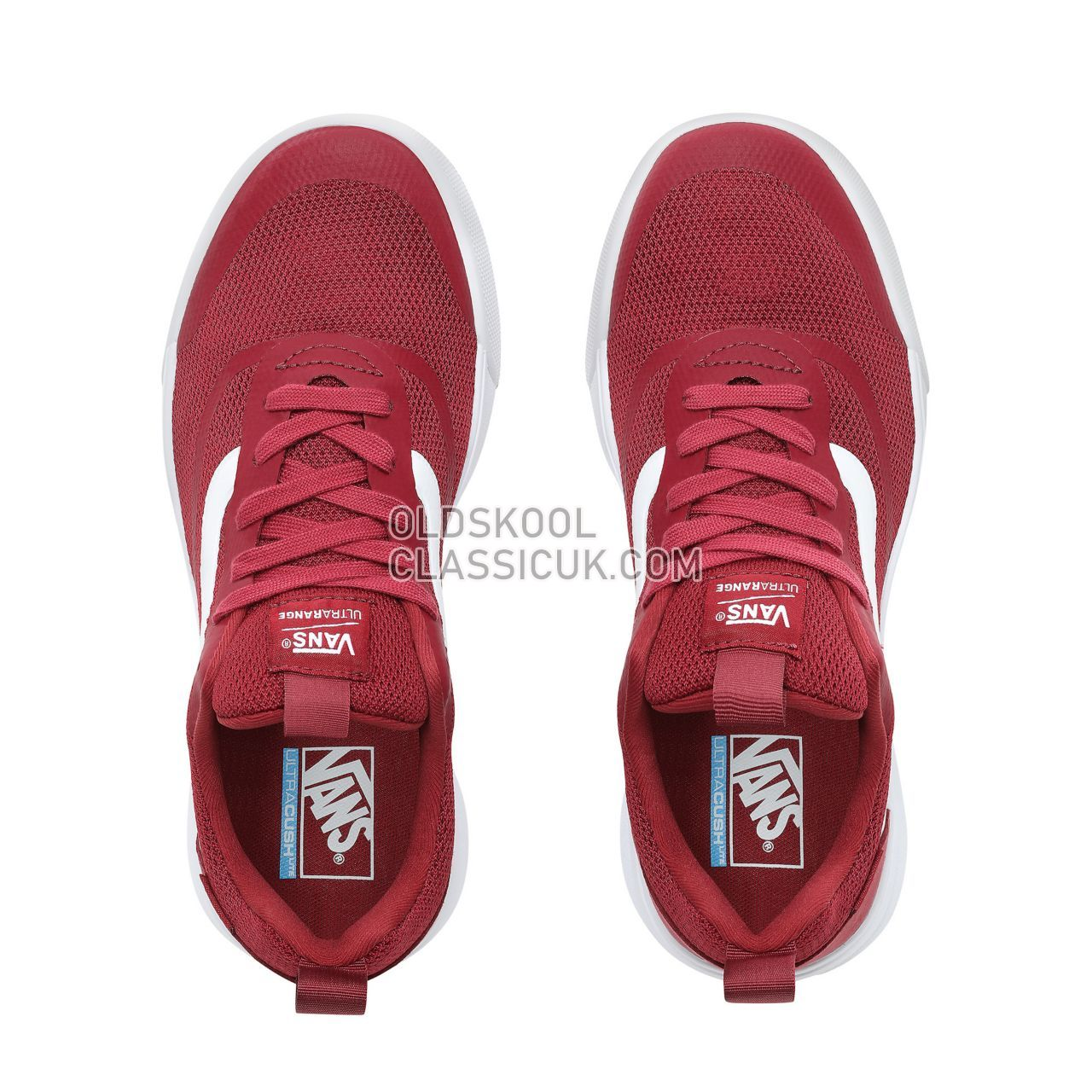 ed7fded55f41c8 Vans Ultrarange Rapidweld Sneakers Mens Rumba Red True White VN0A3MVUVG4  Shoes - £74