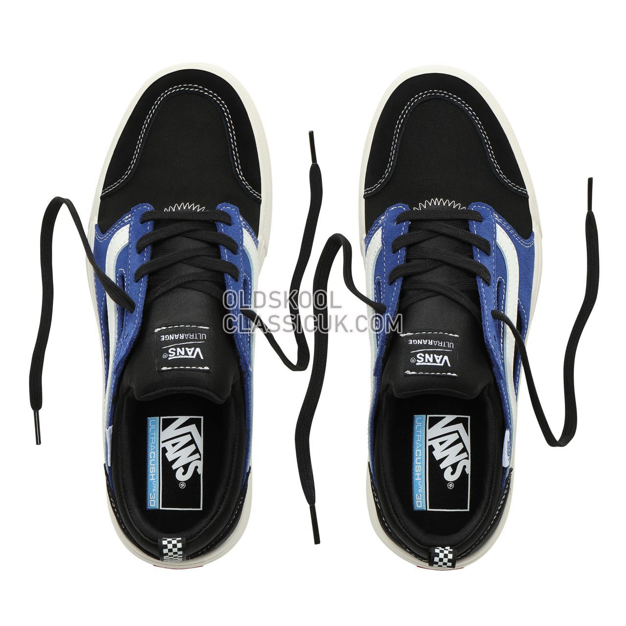 Vans Check Ultrarange 3D Sneakers Mens (Check) Black/Blue VN0A3TKW0RY Shoes
