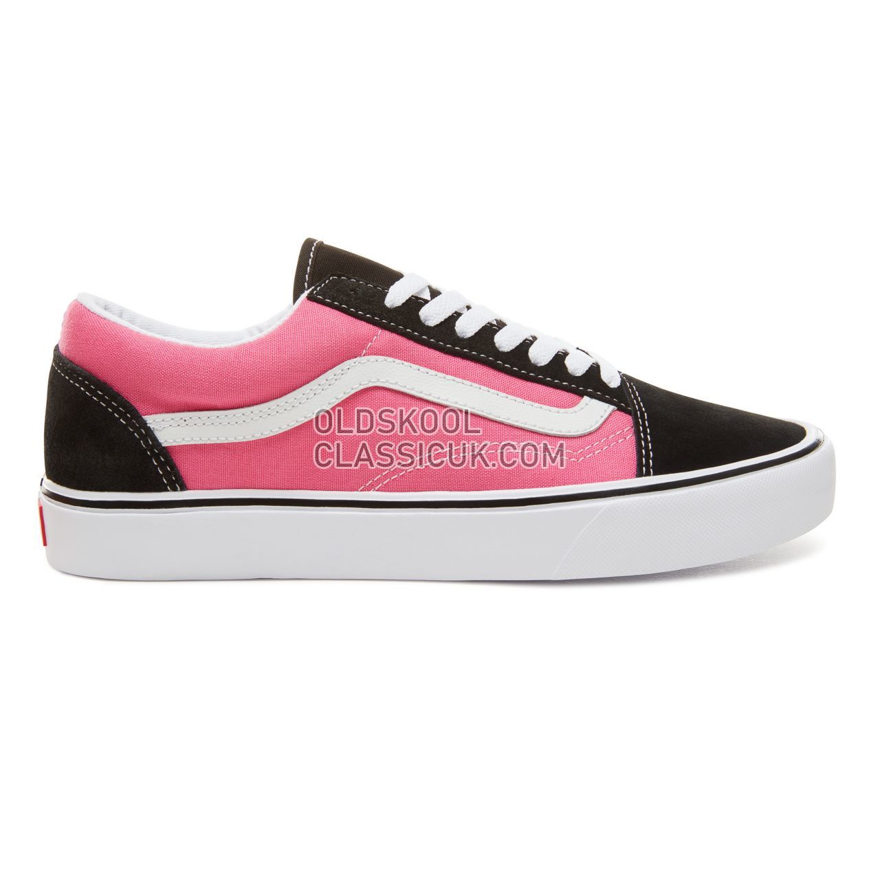 Vans Suede 2-Tone Old Skool Lite Sneakers Mens Womens Unisex (2Tone) Black/Magenta VA2Z5WUB0 Shoes