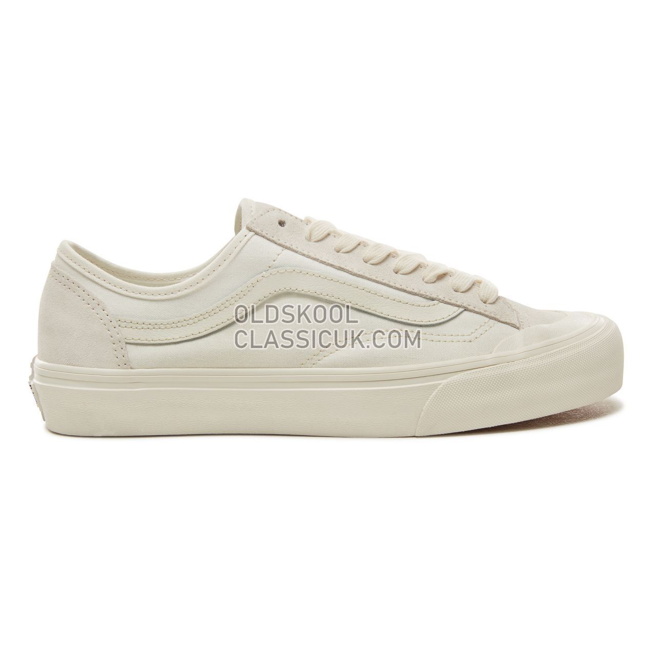 Vans Style 36 Decon SF Sneakers Mens Marshmallow/Marshmallow VA3MVLQC5 Shoes
