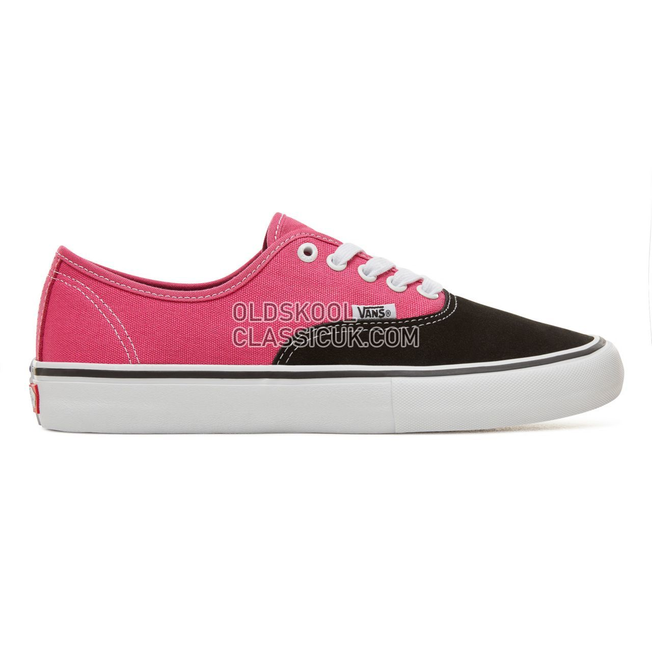Vans Authentic Pro Sneakers Mens Black/Magenta V00Q0DKMN Shoes