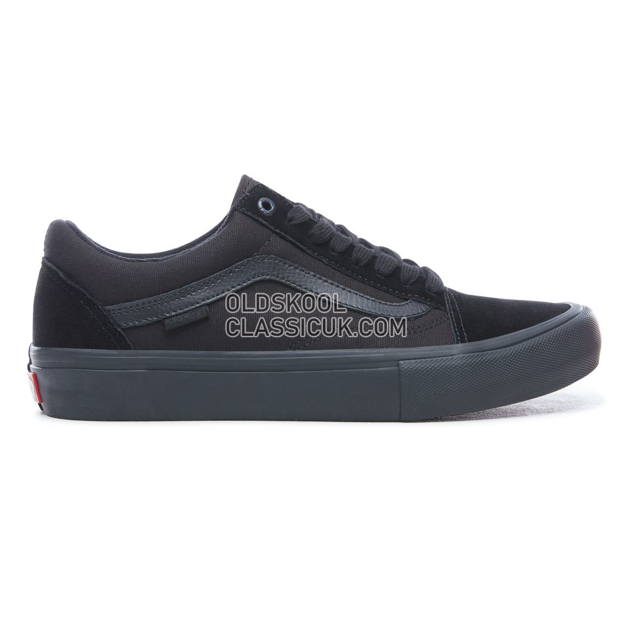 Vans Old Skool Pro Sneakers Mens Womens Unisex Blackout VN000ZD41OJ Shoes