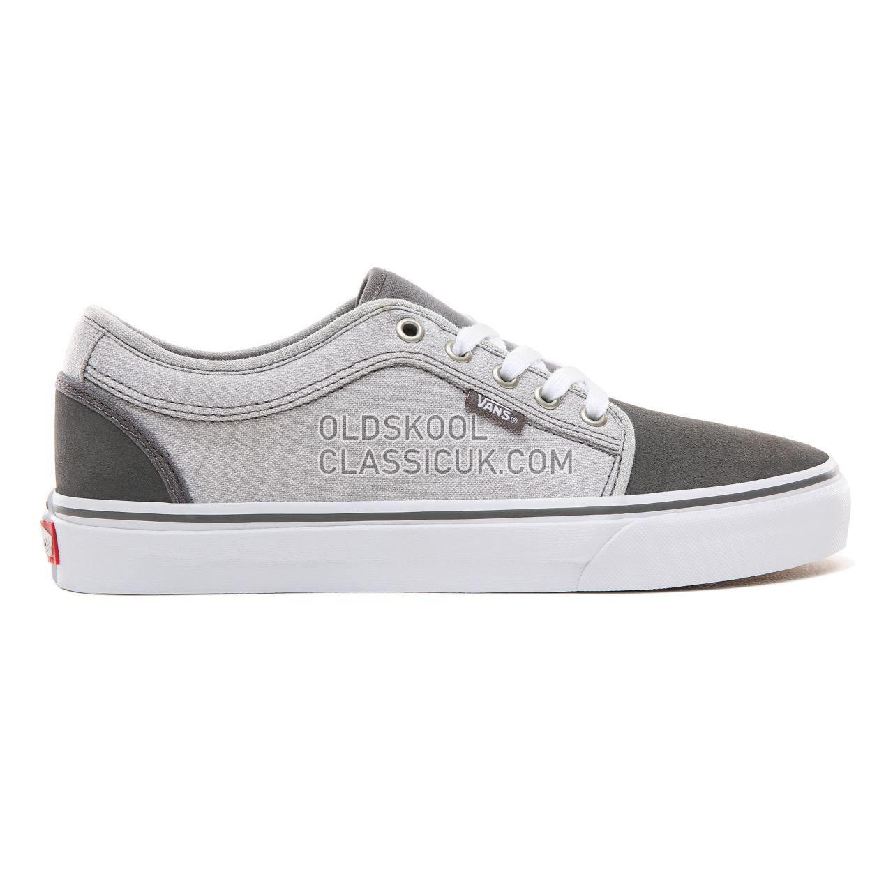 Vans Suiting Chukka Low Sneakers Mens (Suiting) Pewter/Frost Gray VA38CGU1J Shoes