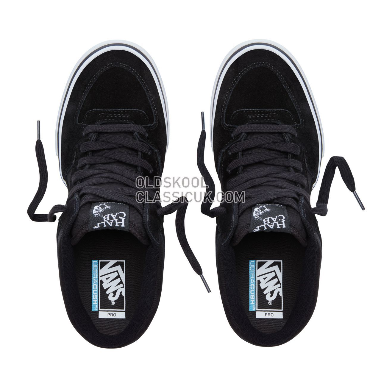 Vans Half Cab Pro Sneakers Mens Black/White VN0A38CPB8C Shoes