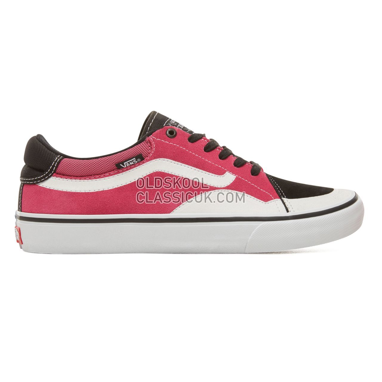 Vans TNT Advanced Prototype Pro Sneakers Mens Black/Magenta/White VA3TJXLJN Shoes