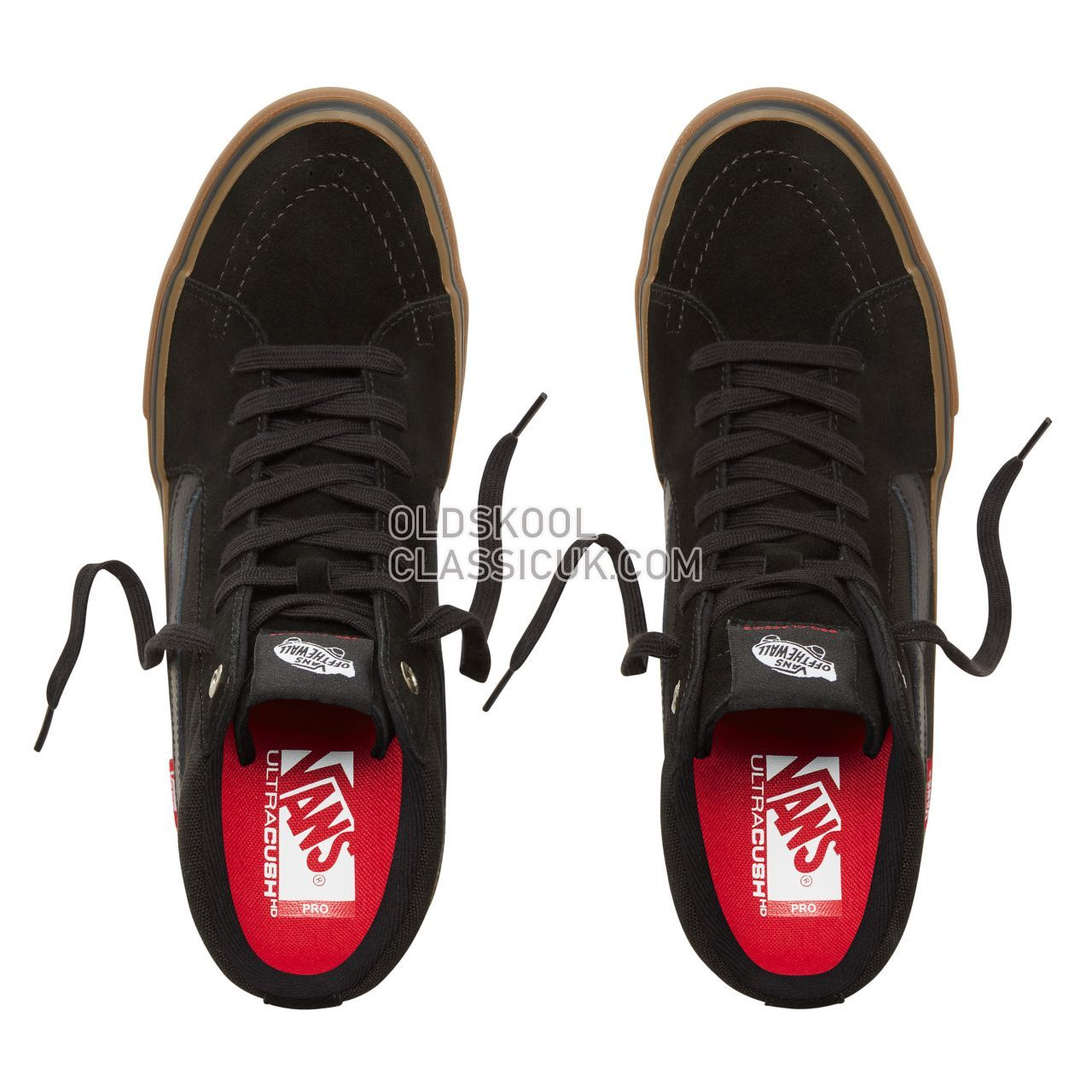 Vans Sk8-Hi Pro Sneakers Mens Black-Gum VN000VHGB9M Shoes