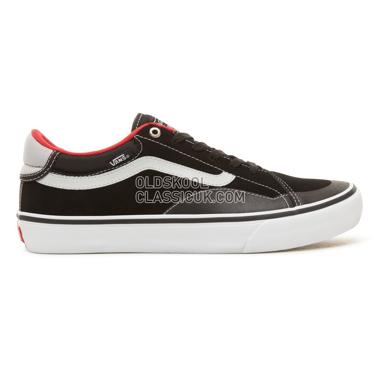 Vans TNT Advanced Prototype Pro Sneakers Mens Black/White/Red VN0A3TJXBWT Shoes