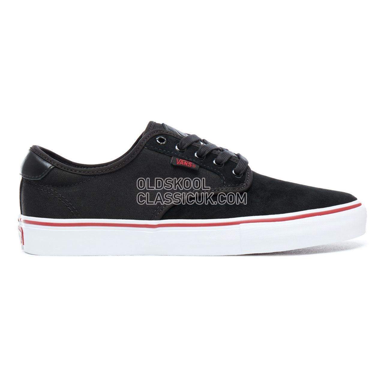 Vans Chima Ferguson Pro Sneakers Mens Black-White-Chili Pepper VA38CFB48 Shoes