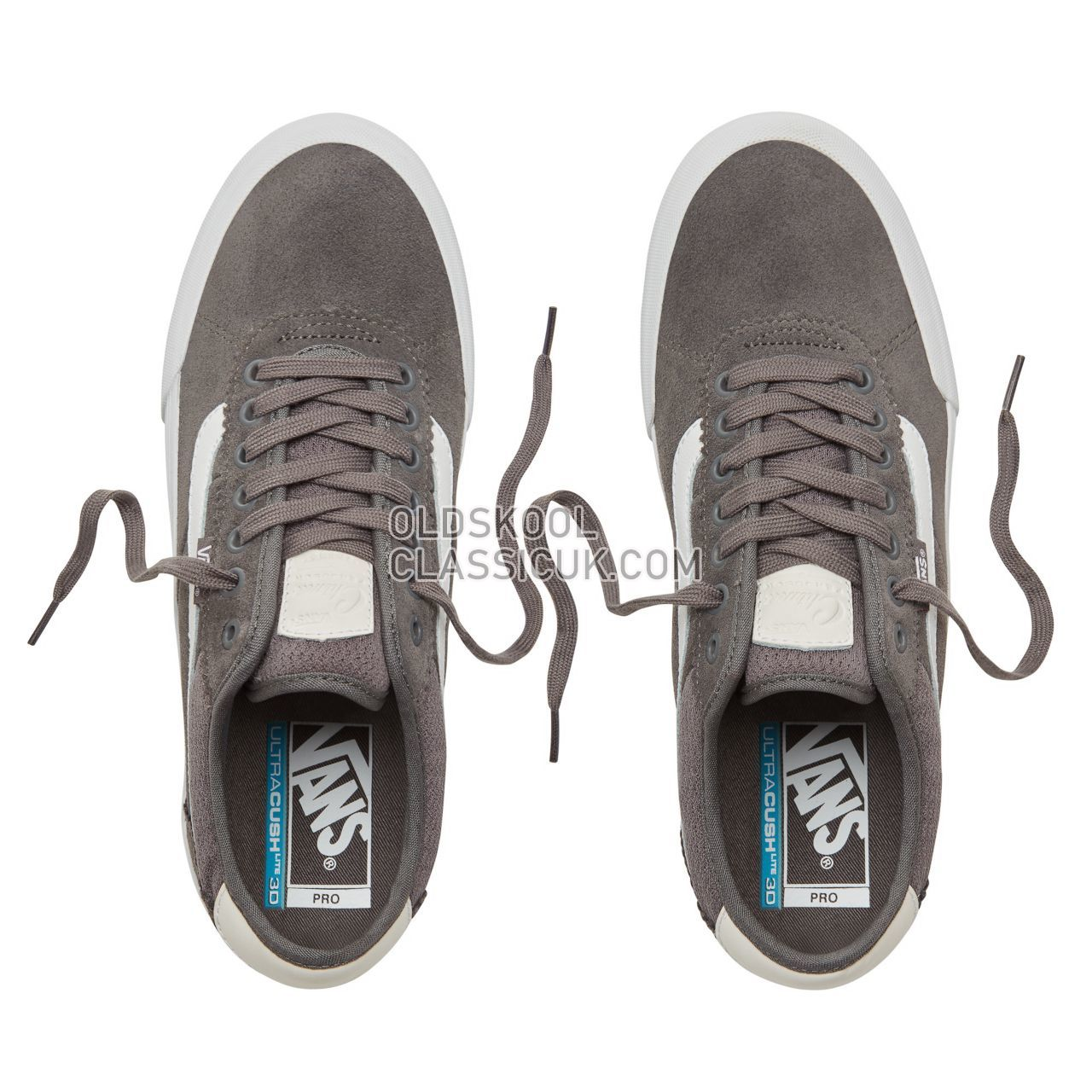 Vans Chima Pro 2 Sneakers Mens Pewter/True White VA3MTI195 Shoes