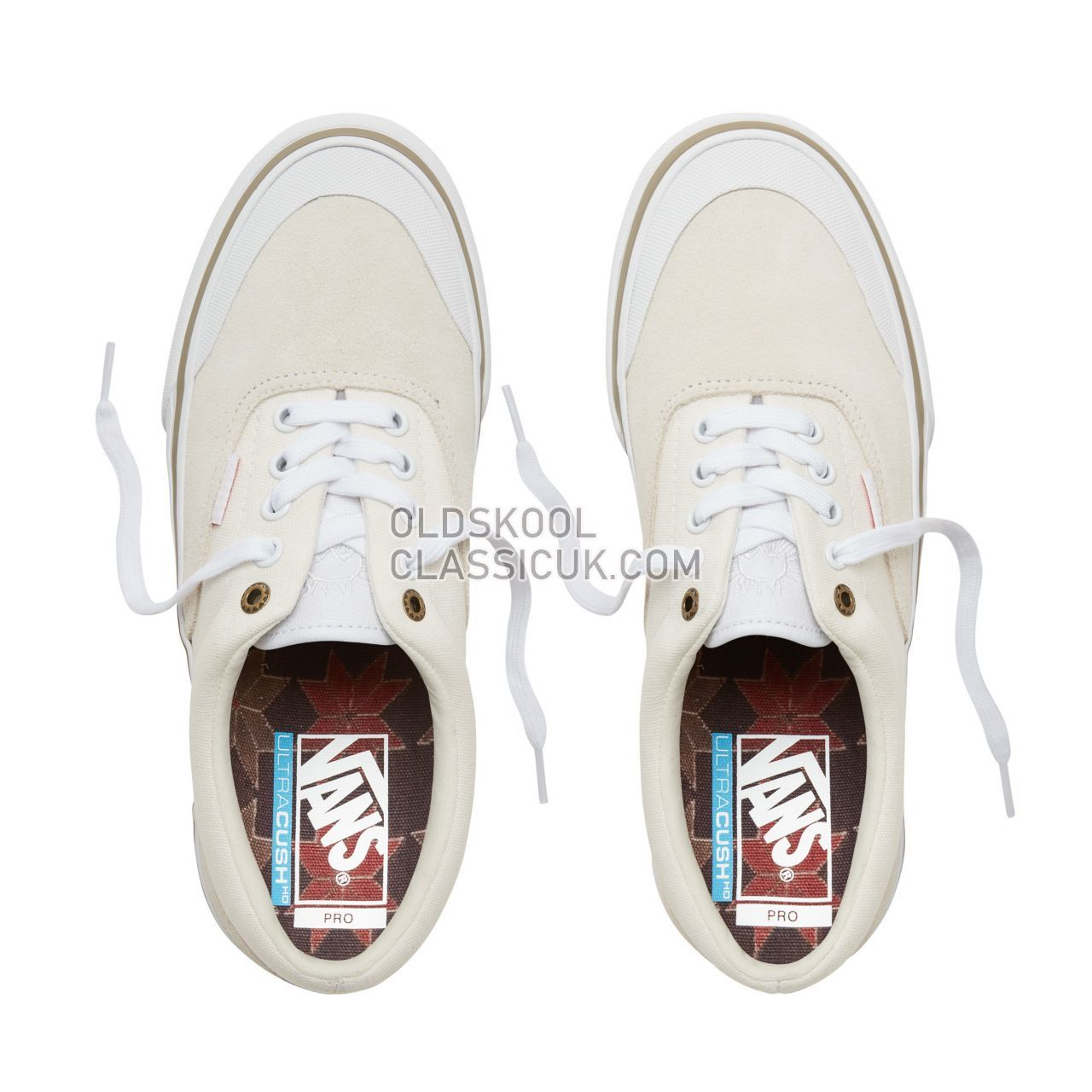 Vans Dakota Roche Era Pro Sneakers Mens (Dakota Roche) Marshmallow/White V00VFBU1L Shoes