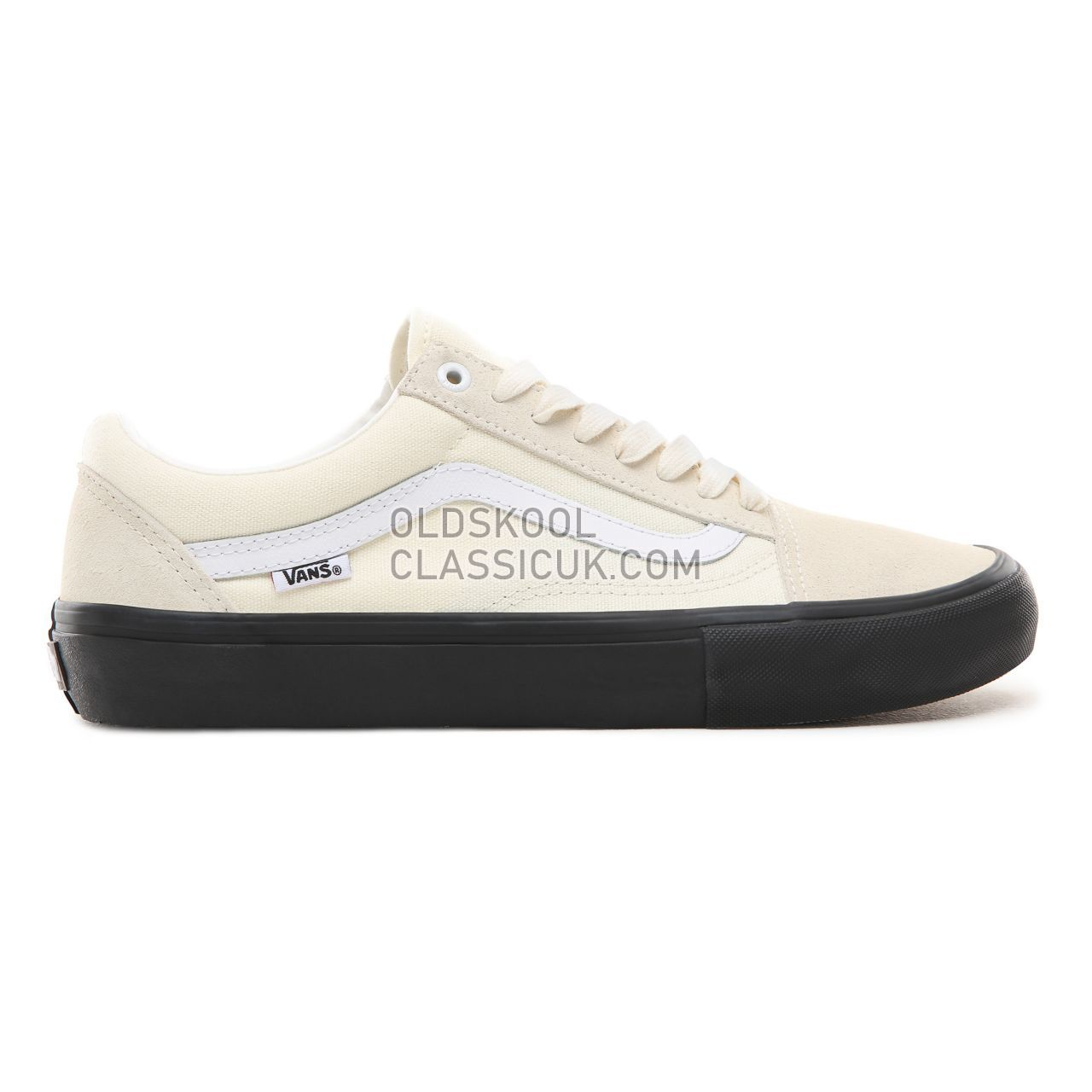 Vans Old Skool Pro Sneakers Mens Womens Unisex Classic White/Black V00ZD4U20 Shoes