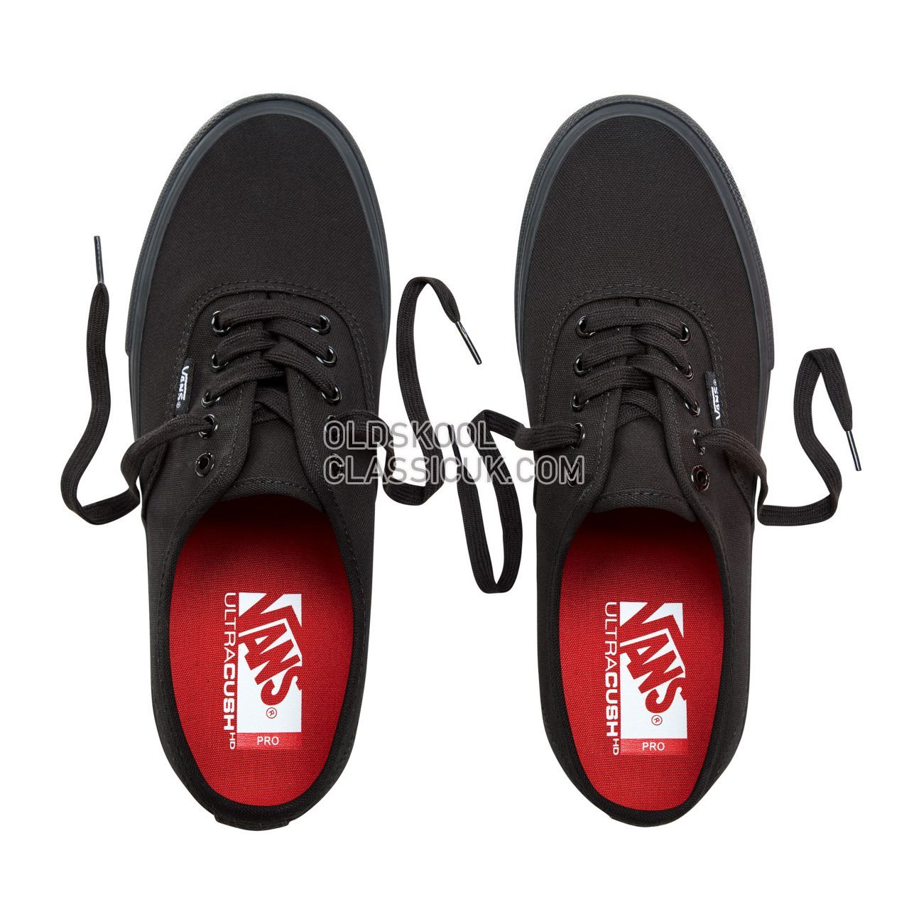 Vans Authentic Pro Sneakers Mens Black VQ0DBKA Shoes