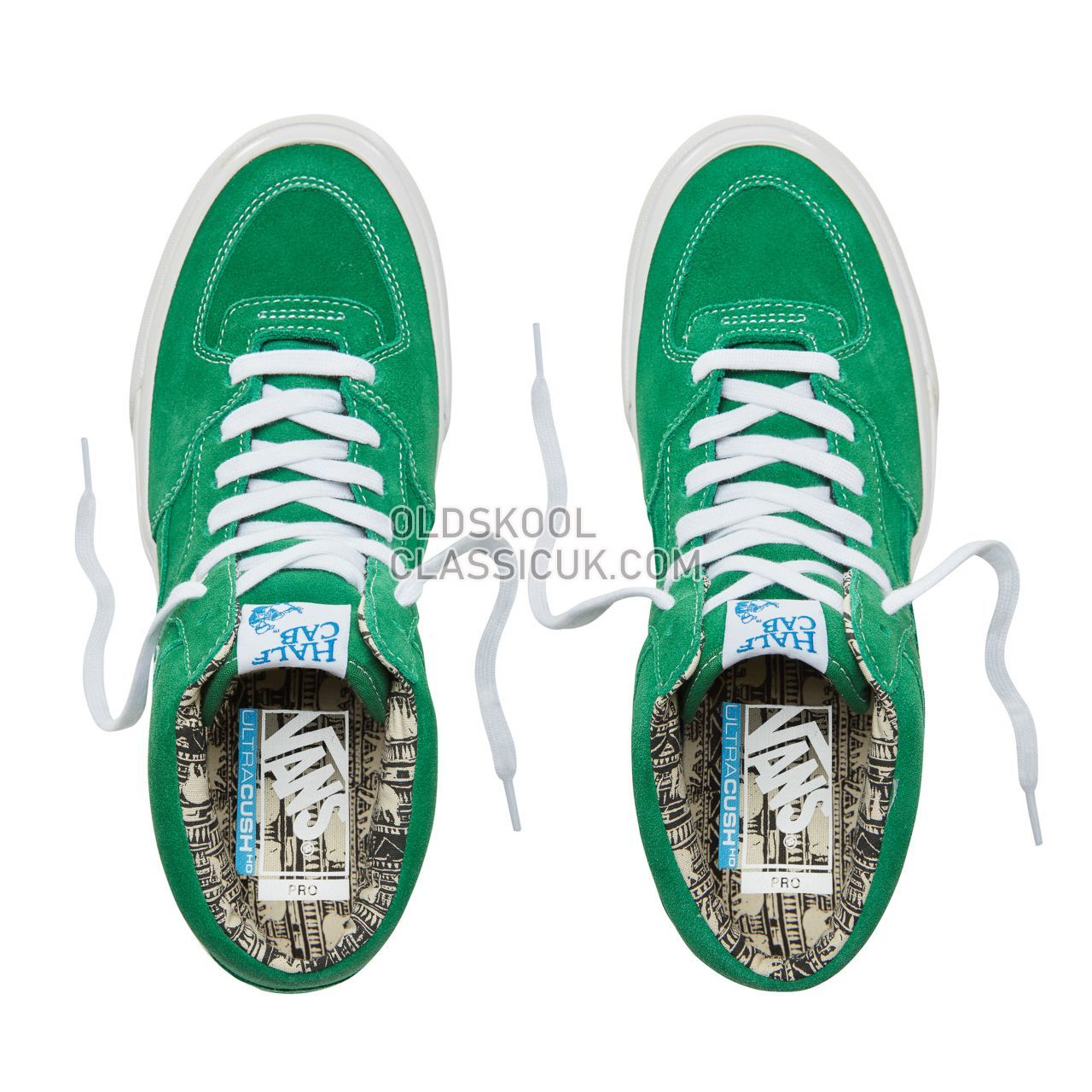 Vans Ray Barbee Half Cab Pro Sneakers Mens (Ray Barbee) Og Emerald VA38CPU1R Shoes