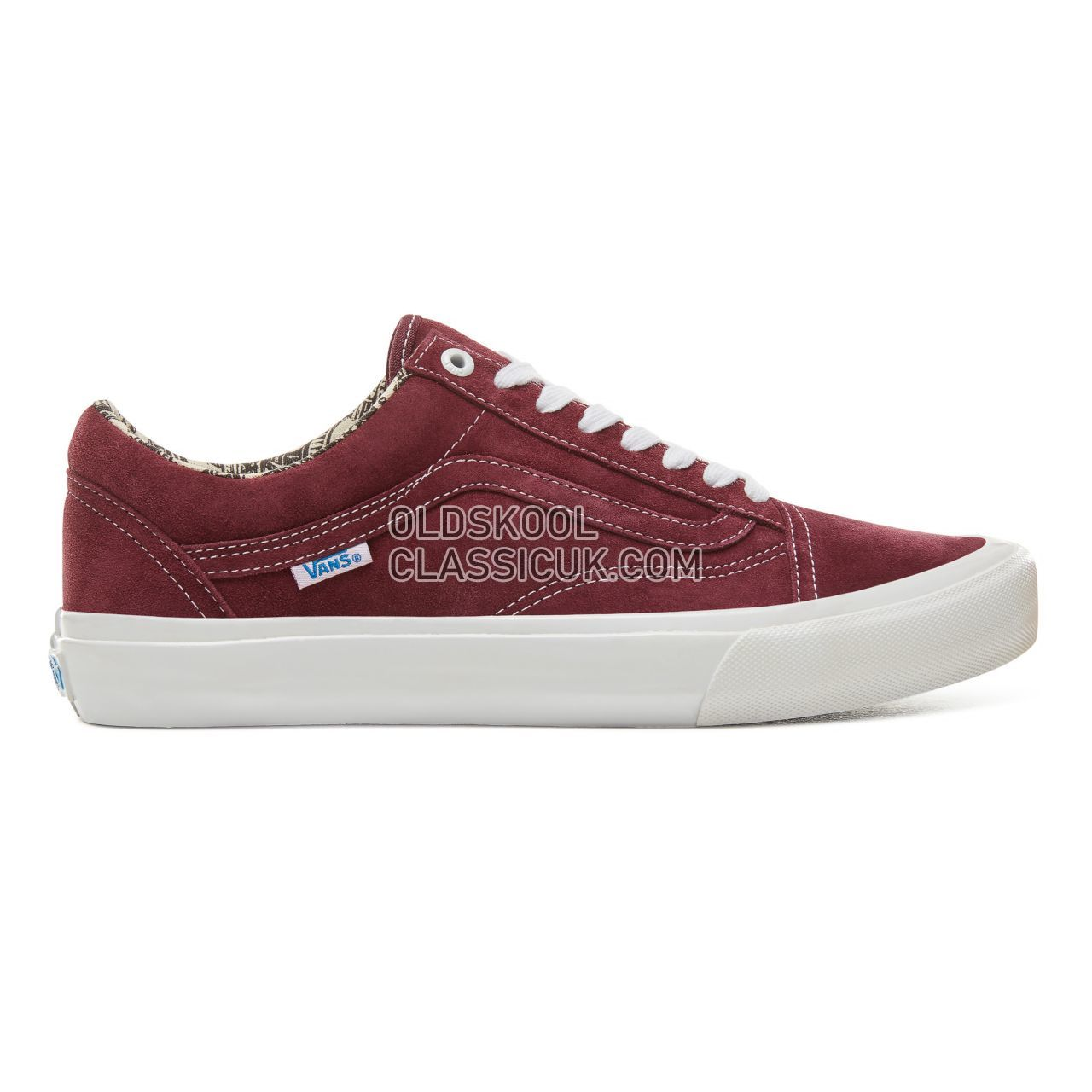 Vans Ray Barbee Old Skool Pro Sneakers Mens Womens Unisex (Ray Barbee) Og Burgundy V00ZD4U1Z Shoes