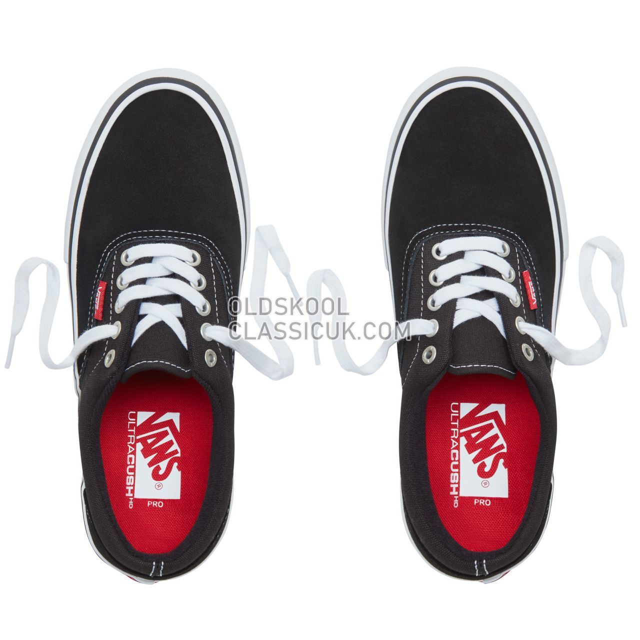 Vans Era Pro Sneakers Mens Black/White/Gum VVFB9X1 Shoes