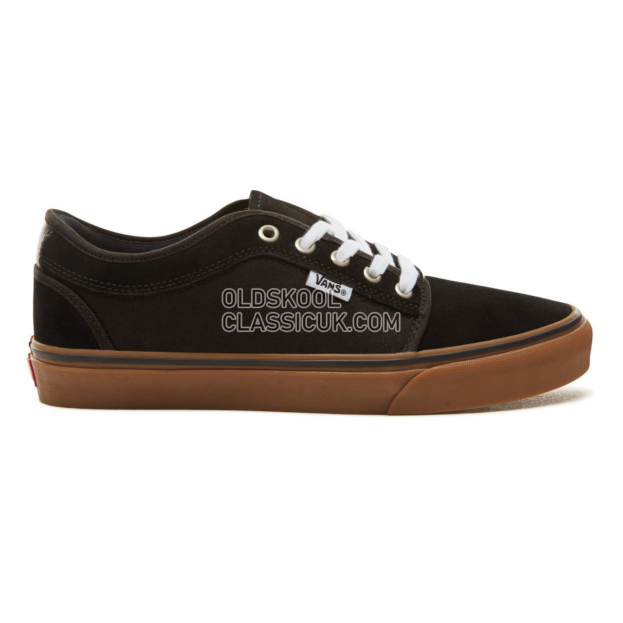 Vans Chukka Low Sneakers Mens Black-Gum VA38CG0I4 Shoes